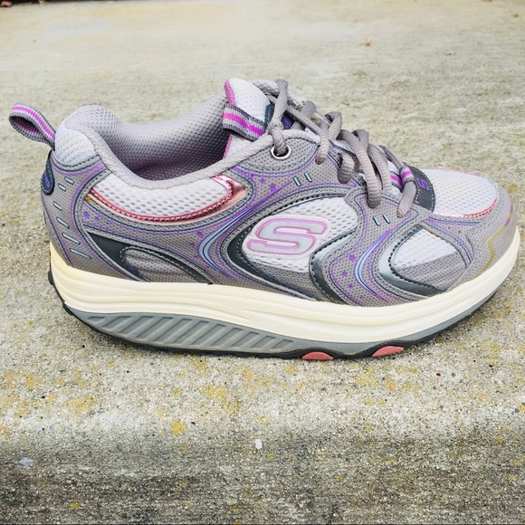 Shape Ups Fitness Purple Gray